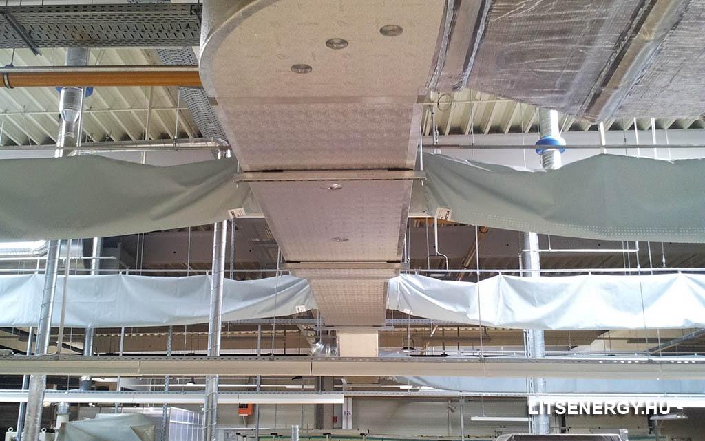 Mennyit takaríthatunk meg, ha a textil légcsatornát választjuk?